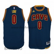 Canotte Basket Bambino Kevin Love 0# Navy Alternate 2015-16 Maglia Cleveland Cavaliers..