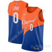 Canotte Basket Bambino Cleveland Cavaliers 2019-20 Kevin Love 0# Blu City Edition Swingman..