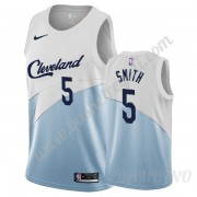 Canotte Basket Bambino Cleveland Cavaliers 2019-20 J.R. Smith 5# Bianca Earned Edition Swingman..