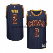 Maglie NBA Kyrie Irving 2# Navy Alternate 2015-16 Canotte Cleveland Cavaliers..