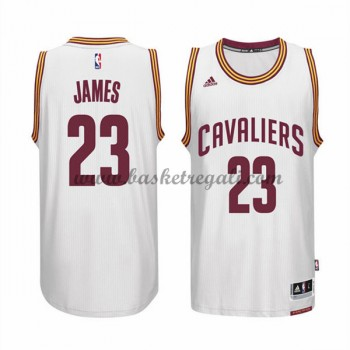 Maglie Basket NBA Cleveland Cavaliers Uomo 2015-16 LeBron James 23# Home Swingman