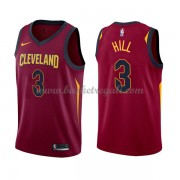 Maglie NBA Cleveland Cavaliers 2018 Canotte George Hill 3# Icon Edition..