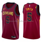 Maglie NBA Cleveland Cavaliers 2018 Canotte J.R. Smith 5# Icon Edition..