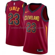 Maglie NBA Cleveland Cavaliers 2018 Canotte LeBron James 23# Icon Edition..