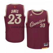 Maglie Basket NBA Cleveland Cavaliers Uomo 2015 LeBron James 23# NBA Christmas Wars Swingman..