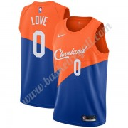 Maglie NBA Cleveland Cavaliers 2019-20 Kevin Love 0# Blu City Edition Canotte Swingman..