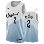 Maglie NBA Cleveland Cavaliers 2019-20 Collin Sexton 2# Bianca Earned Edition Canotte Swingman..