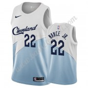 Maglie NBA Cleveland Cavaliers 2019-20 Larry Nance Jr. 22# Bianca Earned Edition Canotte Swingman..