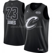 Divise Basket Cleveland Cavaliers s LeBron James 23# Nero 2018 All Star Game..