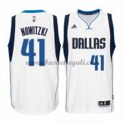 Maglie NBA Dirk Nowitzki 41# Home 2015-16 Canotte Dallas Mavericks..