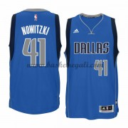 Maglie NBA Dirk Nowitzki 41# Road 2015-16 Canotte Dallas Mavericks..