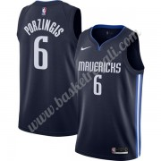 Maglie NBA Dallas Mavericks 2019-20 Kristaps Porzingis 6# Marina Militare Finished Statement Edition..