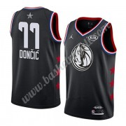 Maglie Basket NBA Dallas Mavericks 2019 Luka Doncic 77# Nero All Star Game Canotte Swingman..