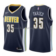 Maglie NBA Denver Nuggets 2018 Canotte Kenneth Faried 35# Icon Edition..
