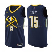 Maglie NBA Denver Nuggets 2018 Canotte Nikola Jokic 15# City Edition..