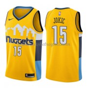 Maglie NBA Denver Nuggets 2018 Canotte Nikola Jokic 15# Statement Edition..