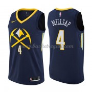 Maglie NBA Denver Nuggets 2018 Canotte Paul Millsap 4# City Edition..