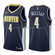 Maglie NBA Denver Nuggets 2018 Canotte Paul Millsap 4# Icon Edition..