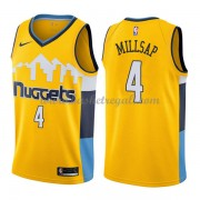 Maglie NBA Denver Nuggets 2018 Canotte Paul Millsap 4# Statement Edition..