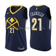 Maglie NBA Denver Nuggets 2018 Canotte Wilson Chandler 21# City Edition..