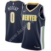 Maglie NBA Denver Nuggets 2019-20 Emmanuel Mudiay 0# Icon Edition Canotte Swingman..