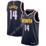 Maglie NBA Denver Nuggets 2019-20 Gary Harris 14# Marina Militare Icon Edition Canotte Swingman..