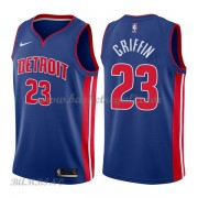 Canotte Basket Bambino Detroit Pistons 2018 Blake Griffin 23# Icon Edition..
