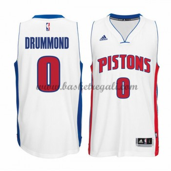 Maglie NBA Andre Drummond 0# Home 2015-16 Canotte Detroit Pistons