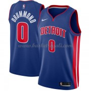 Maglie NBA Detroit Pistons 2018 Canotte Andre Drummond 0# Icon Edition..