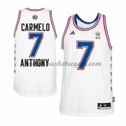 Divise Basket East All Star Game Uomo 2015 Carmelo Anthony 7# NBA Swingman..
