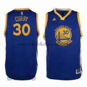 Maglie Basket NBA Golden State Warriors Bambino 2015-16 Stephen Curry 30# Road Swingman..