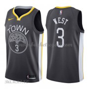 Canotte Basket Bambino Golden State Warriors 2018 David West 3# Statement Edition..