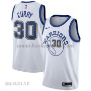 Canotte Basket Bambino Golden State Warriors 2018 Stephen Curry 30# White Hardwood Classics..