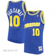 Canotte Basket Bambino Golden State Warriors 1990-91 Tim Hardaway 10# Blue Hardwood Classics..