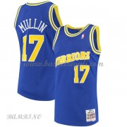Canotte Basket Bambino Golden State Warriors 1993-94 Chris Mullin 17# Blue Hardwood Classics..