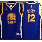 Maglie NBA Andrew Bogut 12# Road 2015-16 Canotte Golden State Warriors..