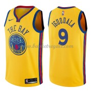 Maglie NBA Golden State Warriors 2018 Canotte Andre Iguodala 9# City Edition..