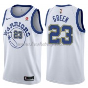 Maglie NBA Golden State Warriors 2018 Canotte Draymond Green 23# White Hardwood Classics..