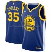 Maglie NBA Golden State Warriors 2018 Canotte Kevin Durant 35# Icon Edition..