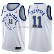 Maglie NBA Golden State Warriors 2018 Canotte Klay Thompson 11# White Hardwood Classics..
