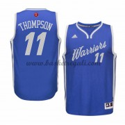 Magliette Basket Golden State Warriors Uomo 2015 Klay Thompson 11# NBA Natale Swingman..