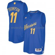 Magliette Basket Golden State Warriors 2016 Klay Thompson 11# NBA Natale Swingman..