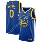 Maglie NBA Golden State Warriors 2019-20 D'Angelo Russell 0# Blu Icon Edition Canotte Swingman..