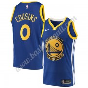 Maglie NBA Golden State Warriors 2019-20 DeMarcus Cousins 15# Blu Icon Edition Canotte Swingman..