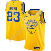 Maglie NBA Golden State Warriors 2019-20 Draymond Green 23# Oro Hardwood Classics Canotte Swingman..