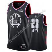 Maglie Basket NBA Golden State Warriors 2019 Draymond Green 23# Nero All Star Game Canotte Swingman..
