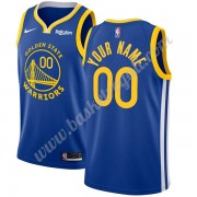 Maglie NBA Golden State Warriors 2019-20 Blu Icon Edition Canotte Swingman..