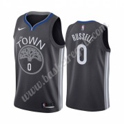 Maglie NBA Golden State Warriors 2019-20 D'Angelo Russell 0# City Edition Canotte Swingman..