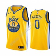 Maglie NBA Golden State Warriors 2019-20 D'Angelo Russell 0# Statement Edition Canotte Swingman..