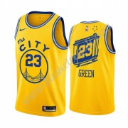 Maglie NBA Golden State Warriors 2019-20 Draymond Green 23# Giallo Classics Edition Canotte Swingman..